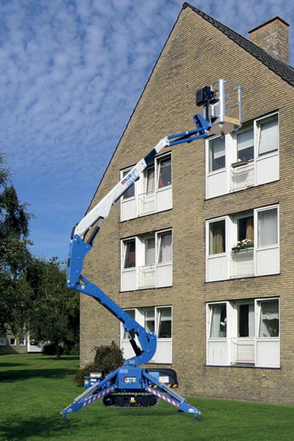 12米橡胶履带蜘蛛式升降机