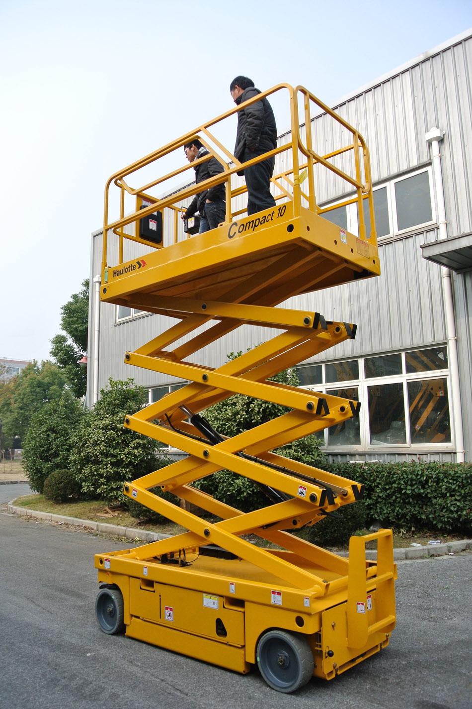 10米电动剪式升降平台