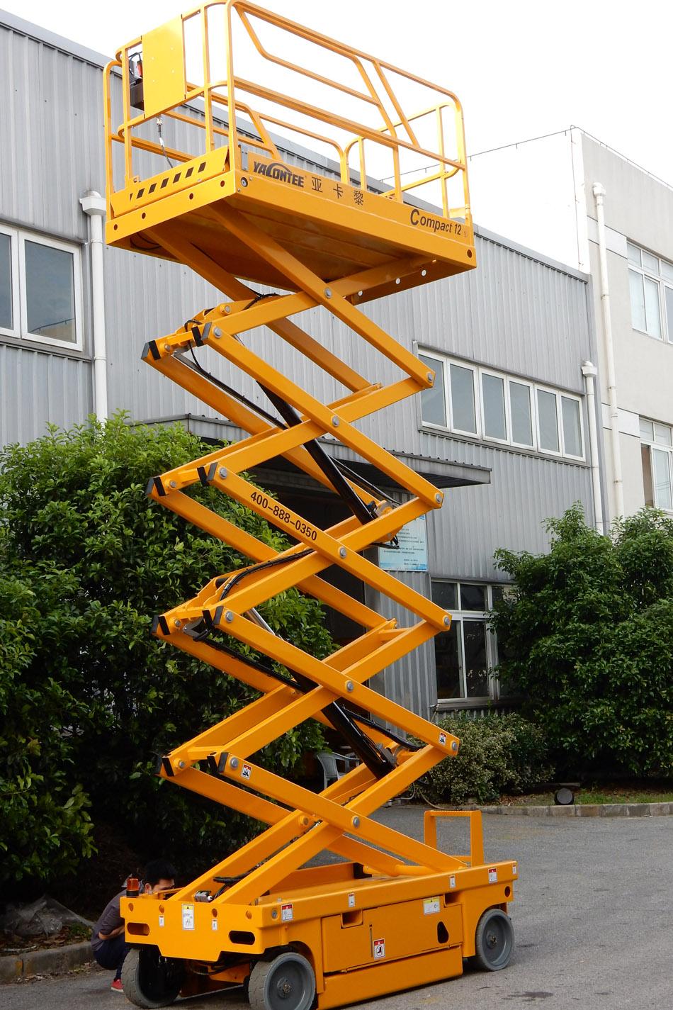 12米电动剪式升降平台