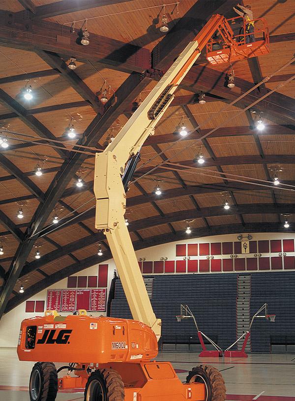 20米电动曲臂式升降平台