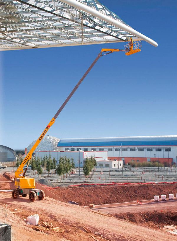 28米直臂式升降平台