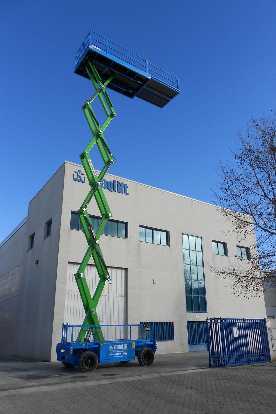 19米大载重剪式升降平台