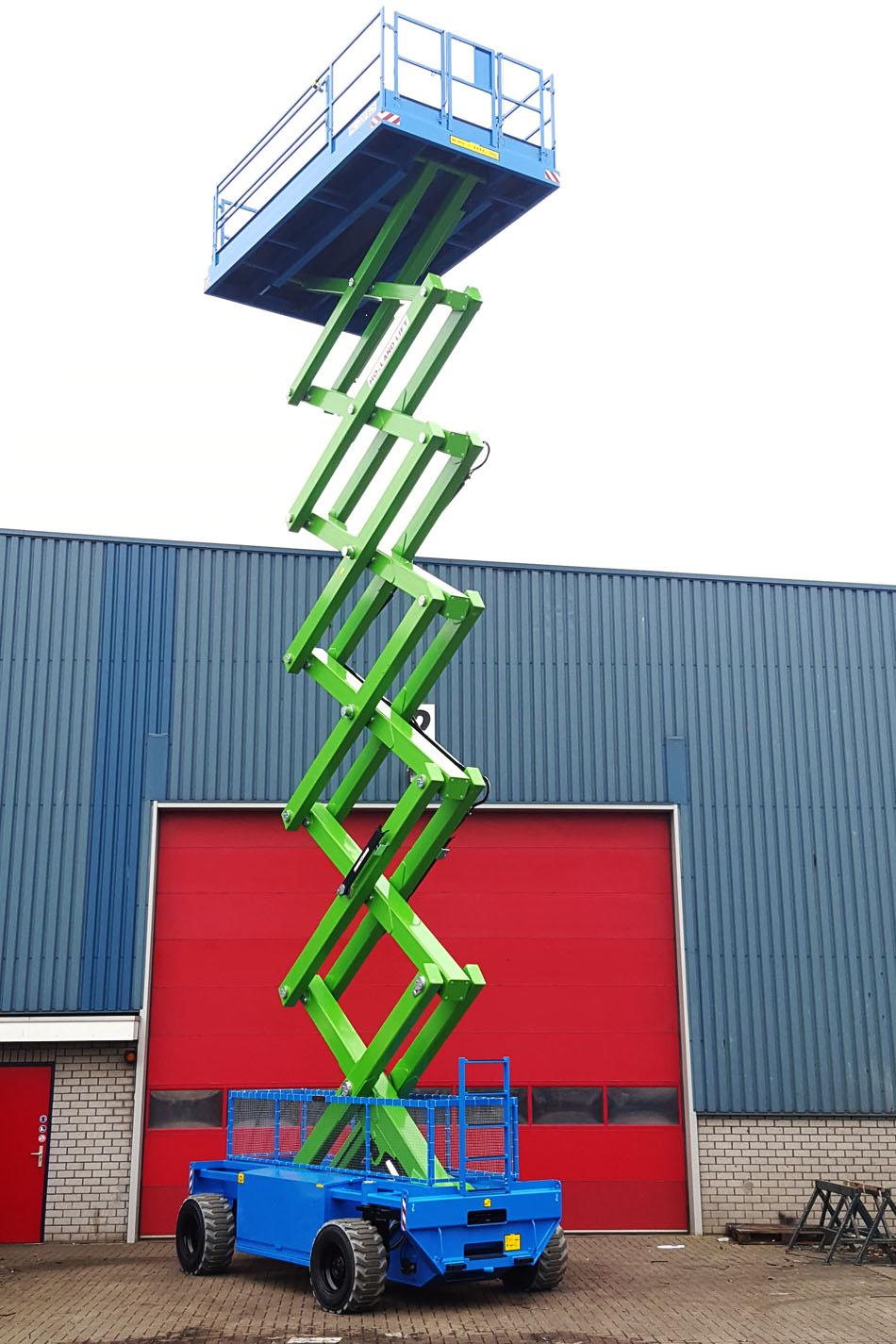 22米大载重剪式升降平台