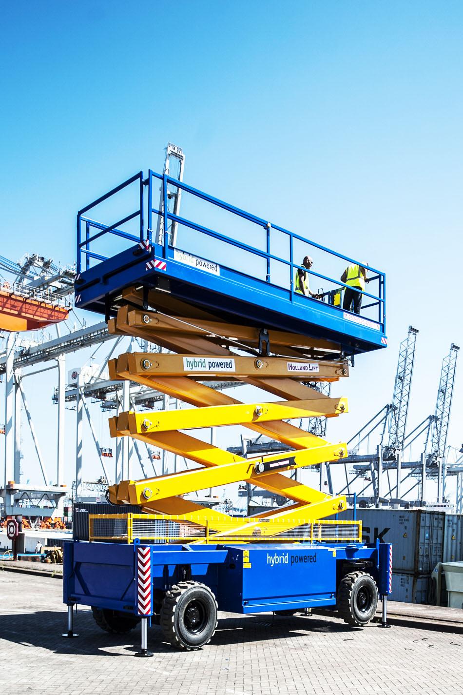 27米大载重剪式升降平台